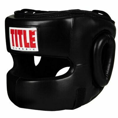 TITLE Classic Face Protector Headgear 2.0
