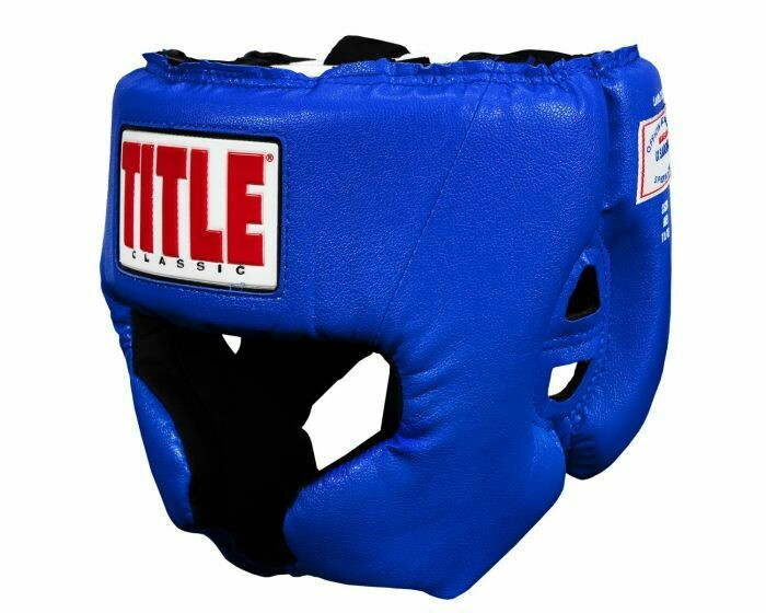TITLE Classic USA Boxing Competition Headgear – With Cheeks