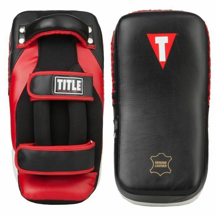 TITLE MMA Anatomical Thai Pads - Pair