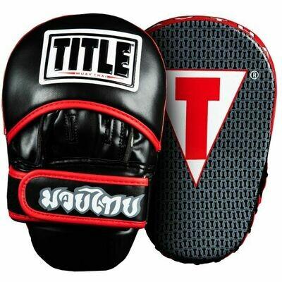 TITLE Muay Thai Pao Focus Pads