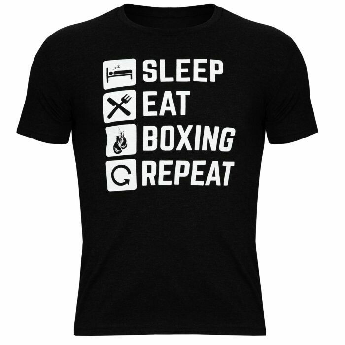 TITLE Boxing Sleep Eat Boxing Repeat