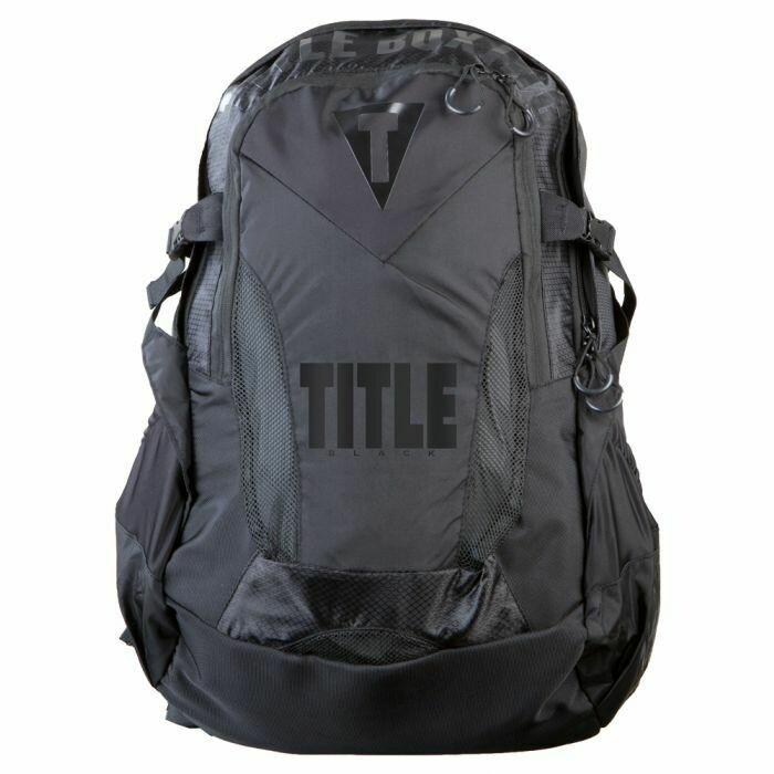 TITLE BLACK Besieged Back Pack