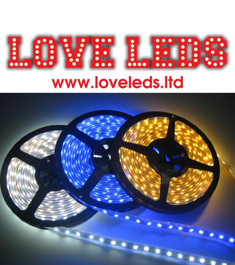 COOL WHITE 120 LED PM - 6w pm 10mm width 12v