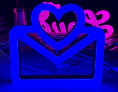 12v or 24v Illuminated Love Mail