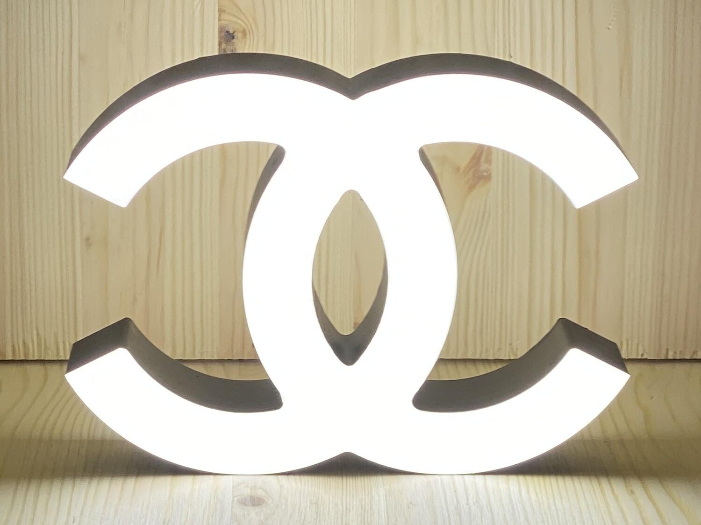 12v or 24v Illuminated Coco Chanel Sign