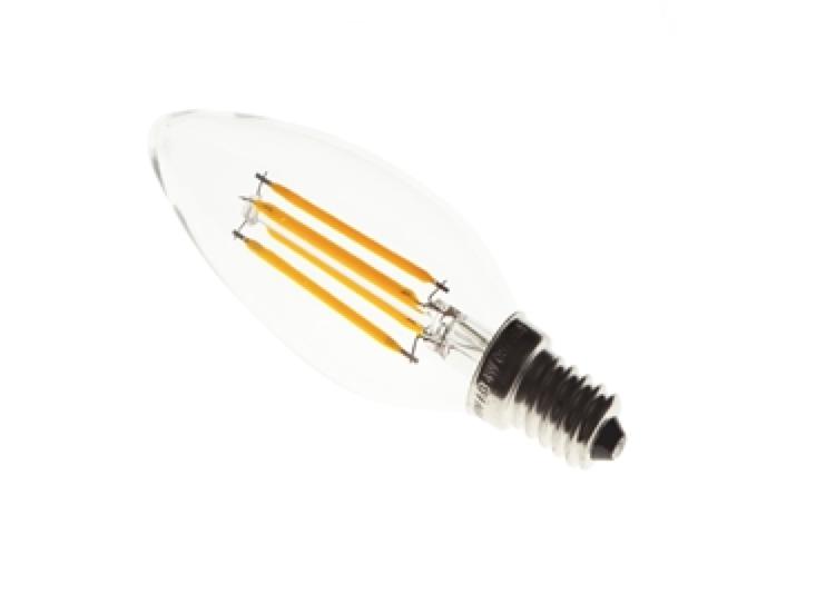 FIBRA LED BULB / 4W / C35