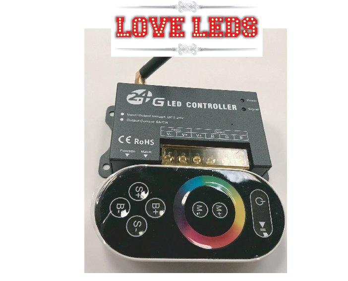 2.4g Wireless RGB Controller 12v/24v