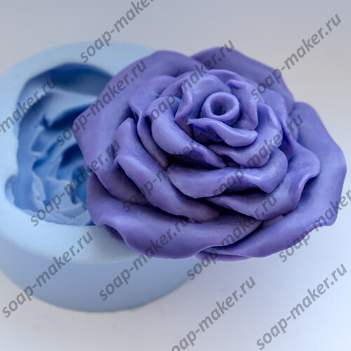 Роза объемная