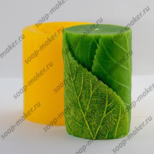 Цилиндр с листиками