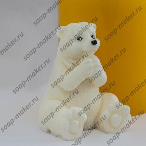 Белый мишка 3D