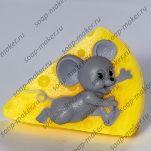 Мышонок и сыр 2D