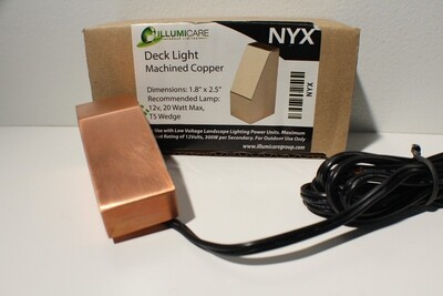 NYX - SMALL DECK MOUNT ARCHITECTURAL FIXTURE