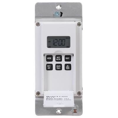 STANDARD 7-DAY PROGRAMMABLE TIMER-15A