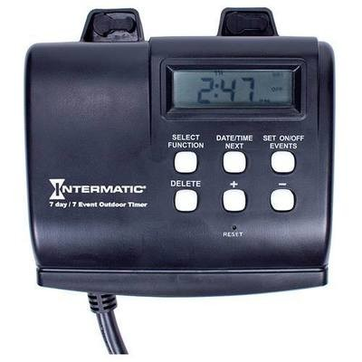 7-DAY OUTDOOR DIGITAL PLUG-IN TIMER