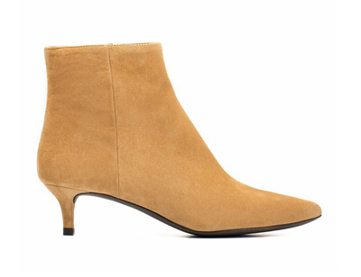 Jacinta Ginger Low Heel Boot
