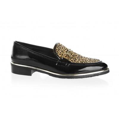 4960 Leopard Loafer