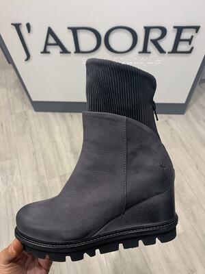 Wedge Sock Boot Antracite