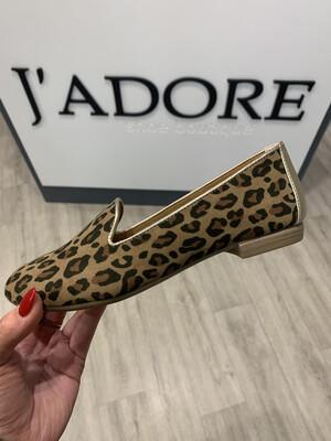 Leopard Flat Loafer