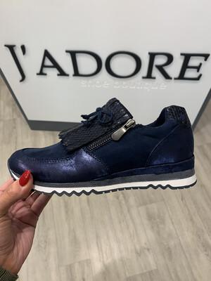 Navy Comb Sneaker