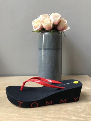 Tango Red Wedge Beach Sandal