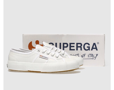 2750 Classic White Leather