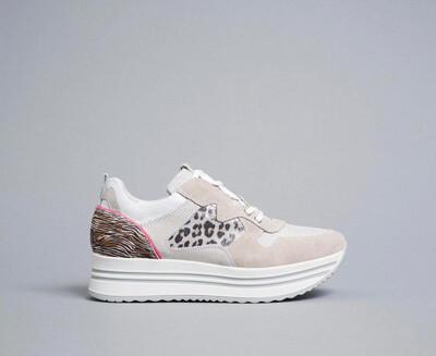 Platform Trainer With Leopard Detail