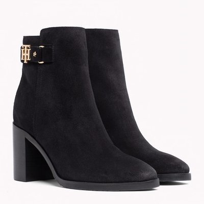 Tommy Hilfiger Buckled Heel Boot