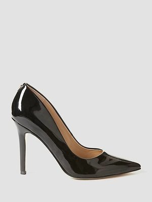 Blix Patent Court Shoe Black