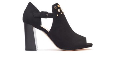 Marone Black Shoe Boot