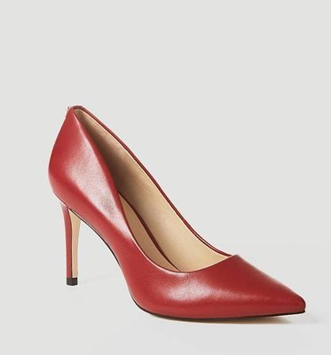 Bennie Red Leather Court