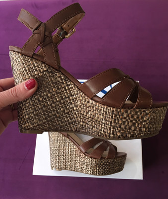 Gulliver Brown Leather Wedge