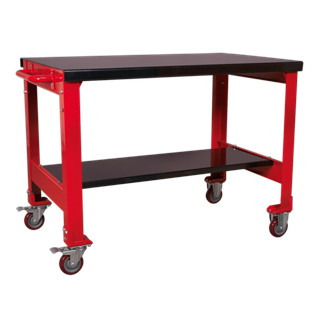 SEALEY MOBILE WORKBENCH 2 LEVEL