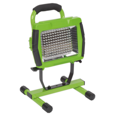 SEALEY FLOODLIGHT PORTABLE RECHARGEABLE108 LED Lithium-ion GREEN