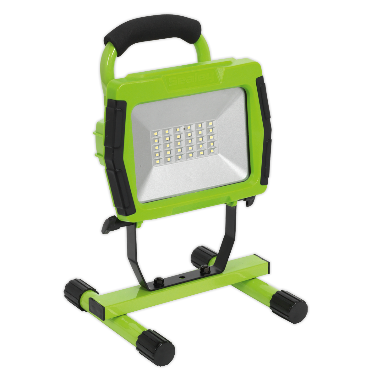 SEALEY FLOODLIGHT PORTABLE RECHARGEABLE 30SMD LED Lithium-ion GREEN