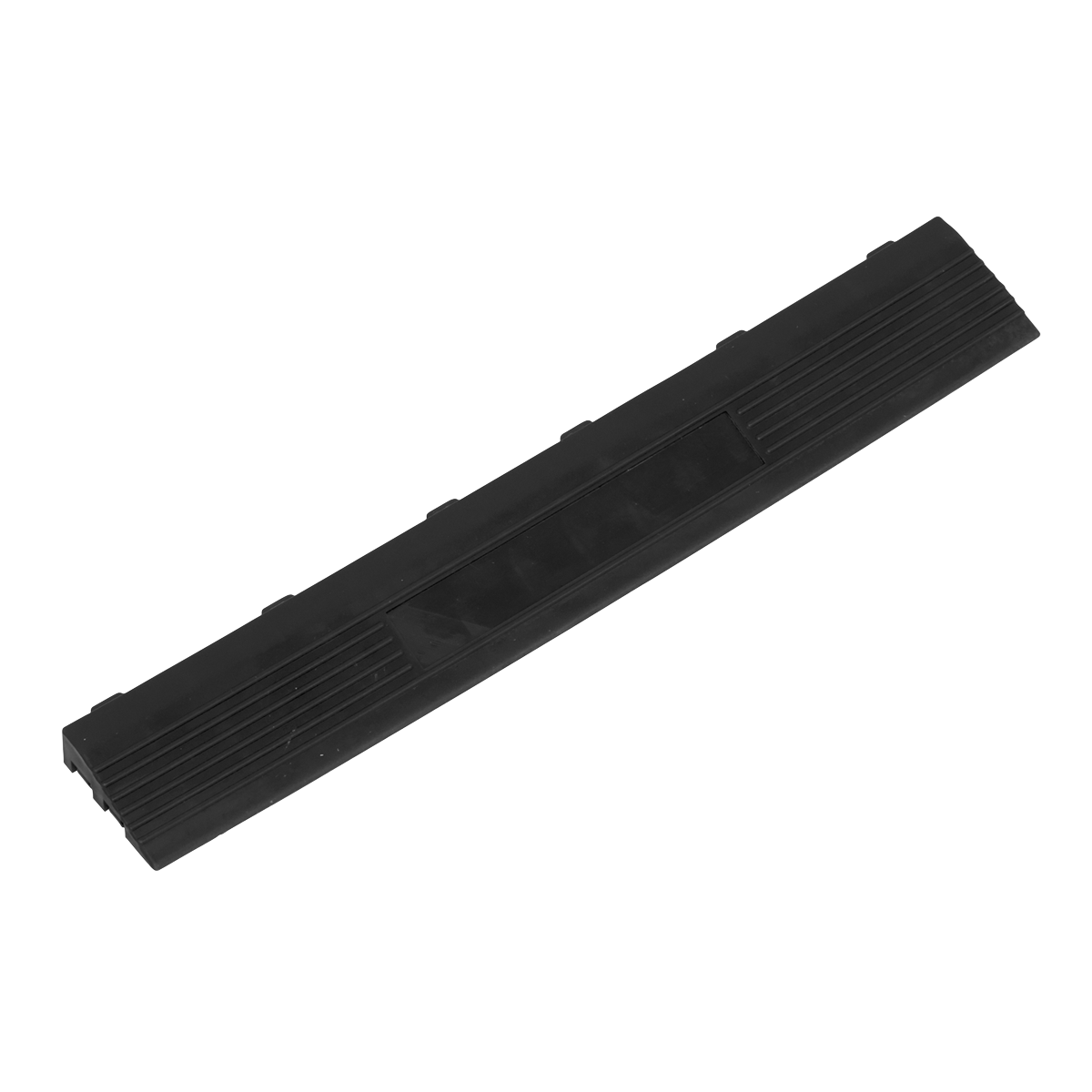 Sealey Polypropylene Floor Tile Edge 400 x 60mm Male - Pack of 6