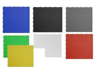Sealey Polypropylene Floor Tile 400 x 400mm -  Pack of 9