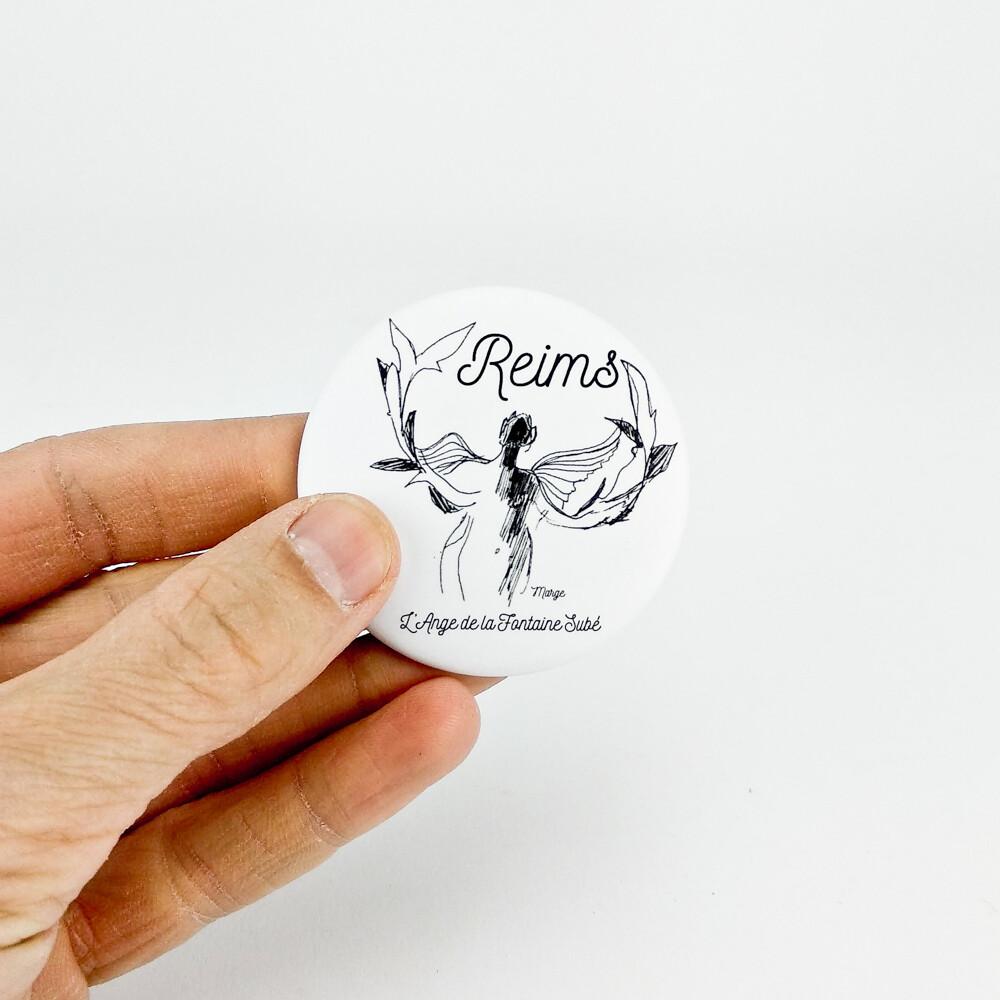 """Magnet décapsuleur """"L'Ange de Reims"""""""