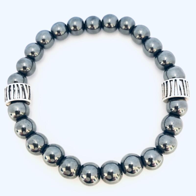 """Aspire"" Wellness Collection All Natural Hematite Bracelet"