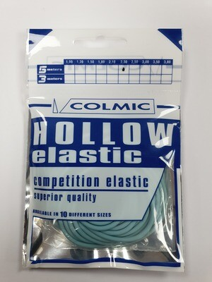 Hollow elastiek Blue 2,3 mm