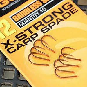 X - Strong Carp Spade Hook