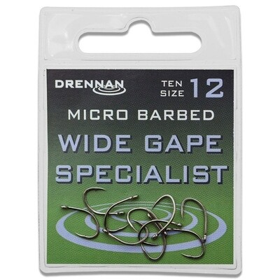 Wide Gape Specialist - micro Barbed
