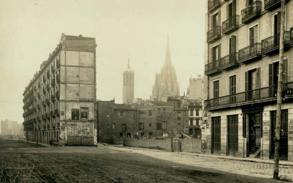 La Via Laietana i el barri perdut