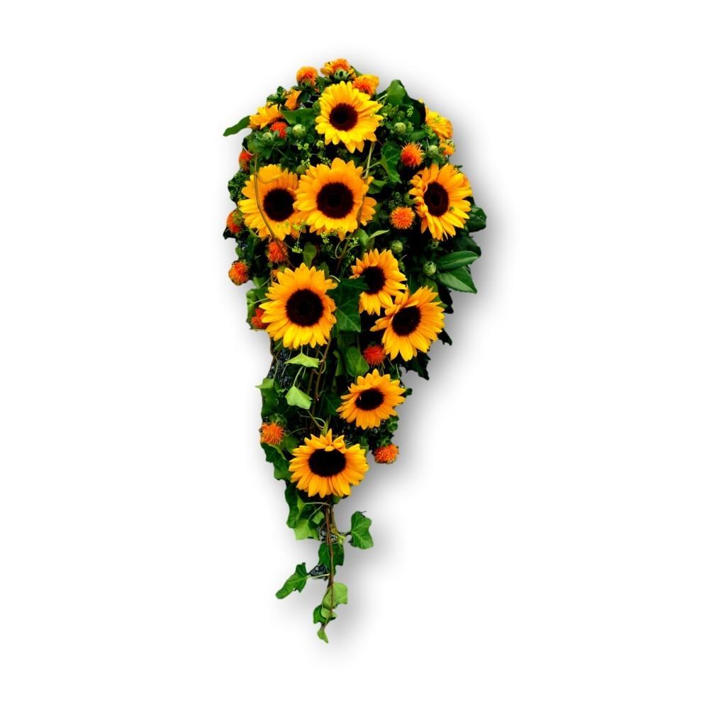 Sargschmuck Sommer - gelb