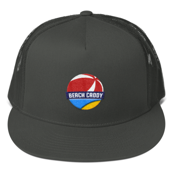 Beach Caddy - Mesh Back Snapback - Black