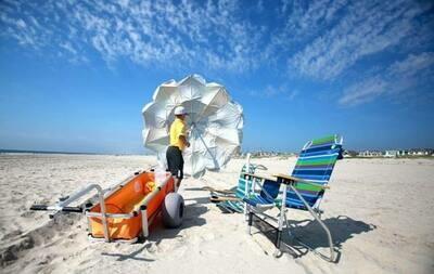 Beach Setup Service