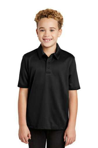 Beecher Golf Port Authority® Silk Touch™ Performance Polo with Left Chest Logo Print
