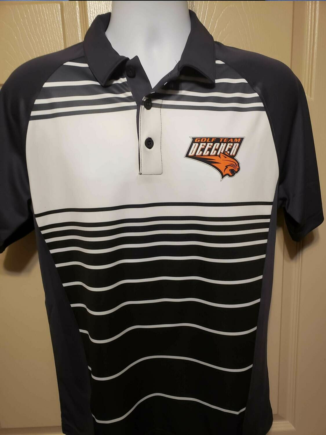 Dry Zone Sublimated Stripe Polo - Beecher Golf
