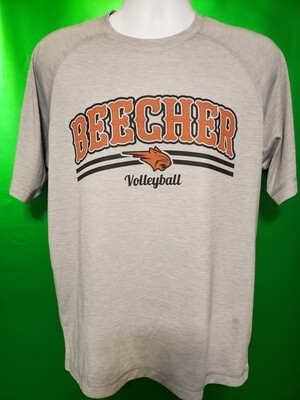 Beecher Volleyball Sport-Tek® PosiCharge® Tri-Blend Wicking Raglan Tee