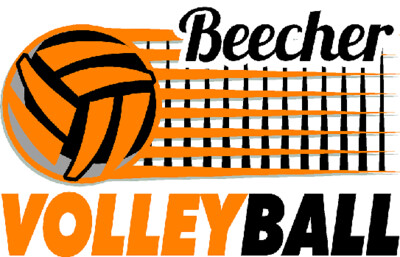 Beecher Volleyball Net Sublimated Racermesh Tee - Long Sleeve, Short Sleeve or V-Neck.