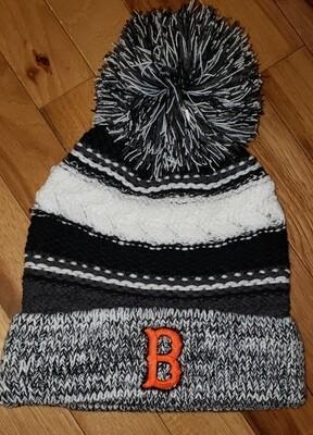 Sport-Tek® Pom Pom Team Beanie - B Embroidery